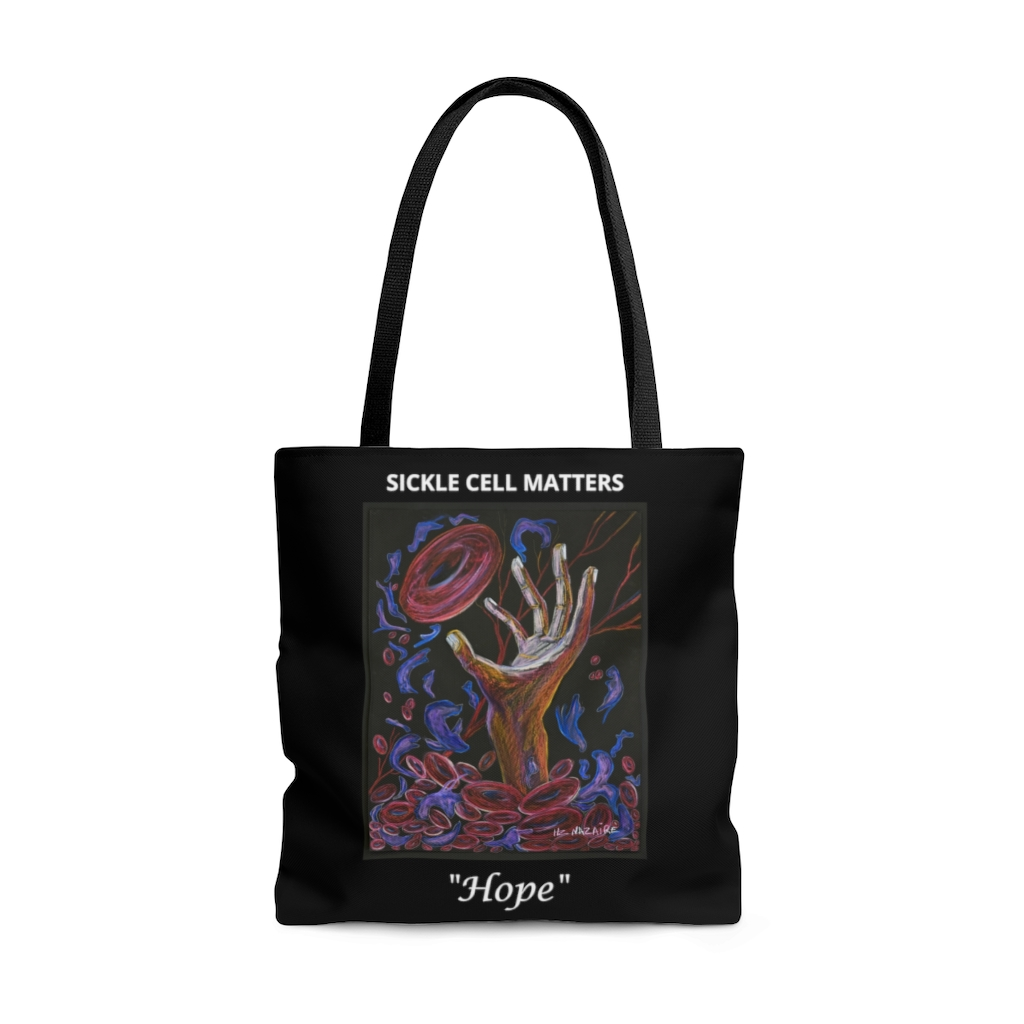 "The Sickle Cell Warrior 2019 Special Edition Tote Bag ""Hope"""